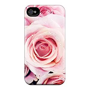 MBgINKO1080wmKFC Case Cover, Fashionable Iphone 4/4s Case - Pink Roses