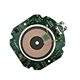 Taidacent Wireless Quick Charger Ultra-Thin Fast Wireless Charger Transmitter Module ST Quick Charging Scheme Universal QI (No Case)