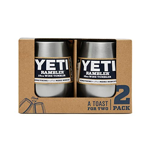 YETI Rambler 10 oz Stainless Steel Vacuum Insulated Wine Tumbler