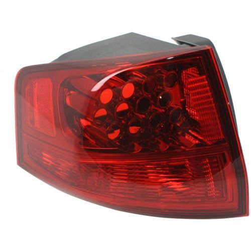 Perfect Fit Group REPA730126Q - Mdx Tail Lamp LH, Outer, Lens And Housing - Capa