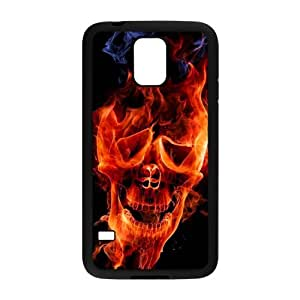 SKUll case Custom Case for samsug galaxy S5 Black Plastic , Cell Phone case& Accessories,Style 10