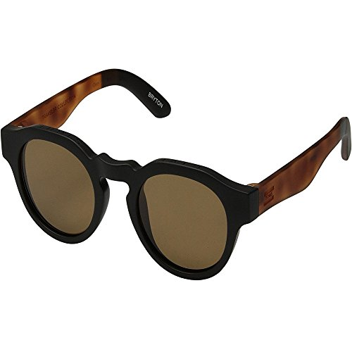 TOMS Unisex TRAVELER by TOMS Bryton - Polarized Matte Black/Honey Tortoise Polar One Size from TOMS