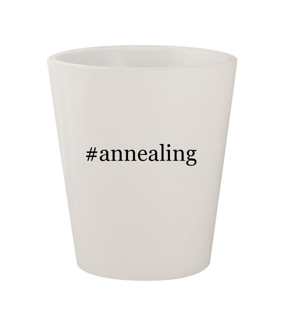 Amazon com | #annealing - Ceramic White Hashtag 1 5oz Shot