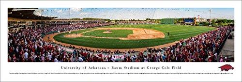 - Arkansas Baseball - Unframed 40 x 13.5 Poster by Blakeway Panoramas