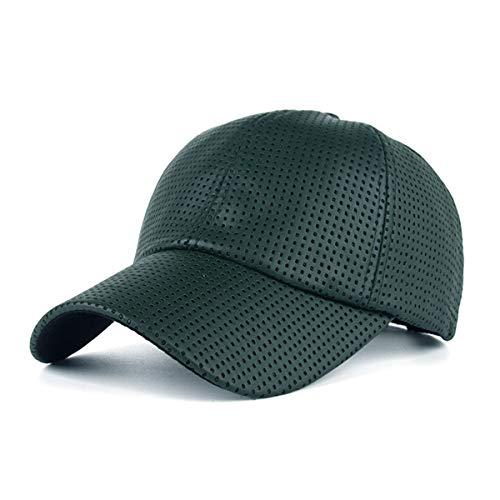 qin del Hombres GLLH los béisbol sombrilla Sombreros hat la de Agujero de la de Casquillo G B de PU Gorra 4Ydw1dqa