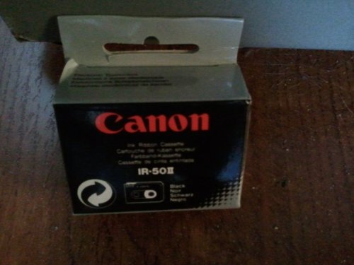 Canon Model IR50II Nylon Typewriter Ribbons, Pack Of 2