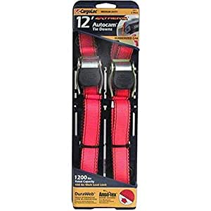 Cargoloc 2Peices 12 Foot Locking Tie Downs - CGL-84031