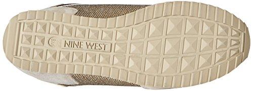 Nine West Telly ante de la zapatilla de deporte de la manera Off White/Multi