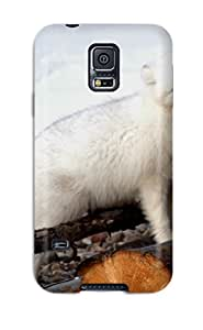 ZescnrW4323VzqqH Case Cover Protector For Galaxy S5 Arctic Foxes Case