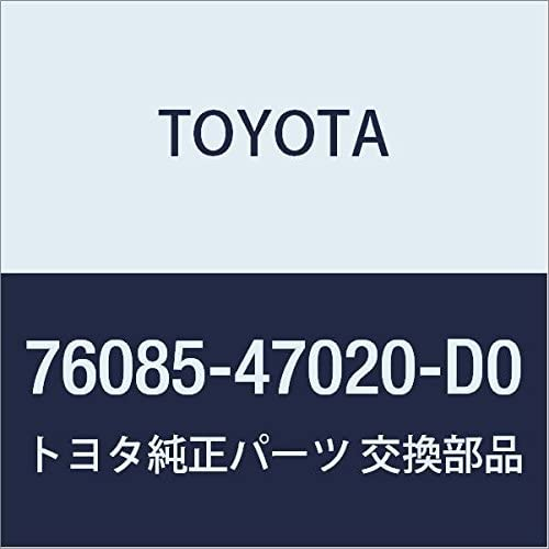 76085-47020-D0 Rr Spoiler S//A Genuine Toyota Parts