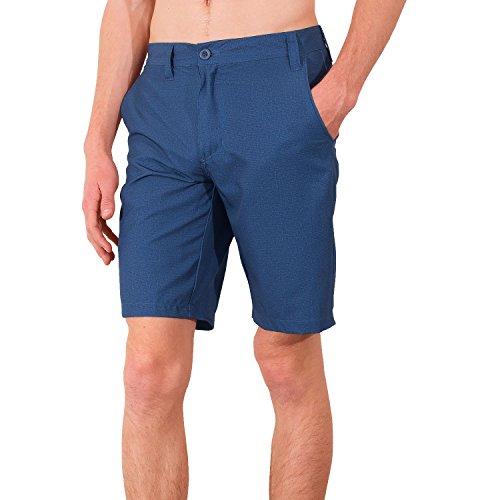 Burnside Quick Dry Stretch Printed Men's Hybrid Boardshorts Walk Shorts (Microfiber Walkshort)