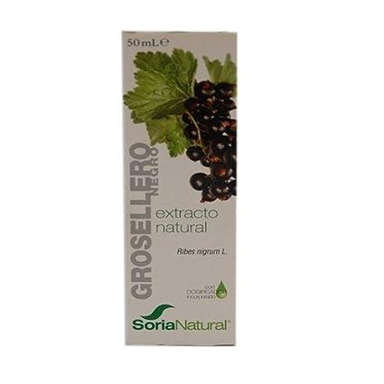 Soria Natural Extracto Grosellero Negro Glicolico - 50 mililitros