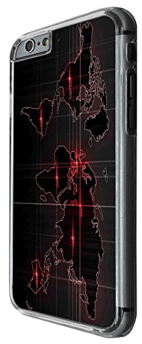 914 - Army Look World Map radar war Design For iphone 5C Fashion Trend CASE Back COVER Plastic&Thin Metal -Clear