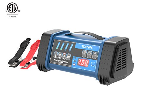 TOPAC 12 Volt 2/10/20A, 24 Volt 2/10A Smart Car Battery Charger ()