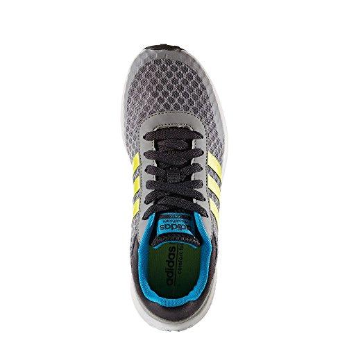 adidas Cloudfoam Race K, Zapatillas De Deporte para Niños Gris (Gris / Amasol / Azusol)