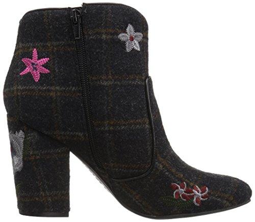 Indigo Rd. Womens Juke Fashion Boot Black / Multi