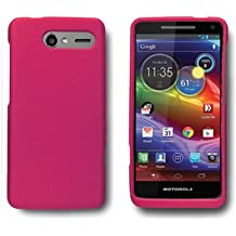CoverON(™) Matte Snap-On ROSE PINK RUBBERIZED Hard Case Cover For MOTOROLA XT901 ELECTRIFY M US CELLULAR With PRY-Triangle Case Removal Tool [WCK242]