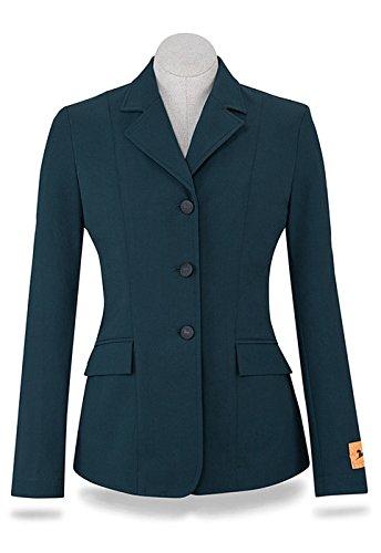 RJ Classics Green Herringbone Soft Shell Monterey Show Coat 8 Long by RJ Classics
