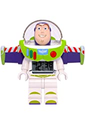 Disney Buzz Lightyear Lego Figure Alarm Clock