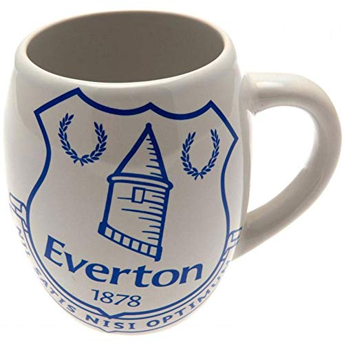 Everton FC Tea Tub Mug - Official, licensed product - Holds approx. 16 oz. - Features team colors and crest - Great looking mug!