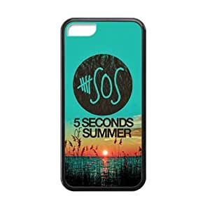 Generic 5 Second Of Summer 5SOS Custom Cases For IPhone 5C TPU (Laser Technology)