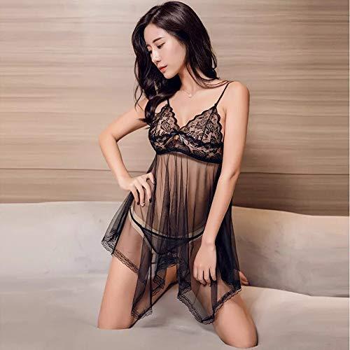 073bc50c3 Amazon.com  Lingerie for Women Sexy Erotic Underwear Bud Silk Yarn  Temptation XL Suit Sling Sex Pajamas Nightdress ...  Clothing