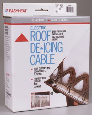 - Easy Heat ADKS-400 80-Foot Roof Snow De-Icing Kit