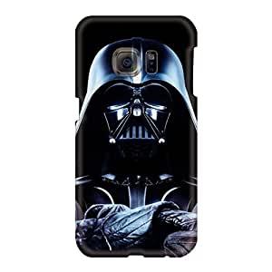 Scratch Resistant Hard Phone Case For Samsung Galaxy S6 (OZr378Ywmf) Provide Private Custom Realistic Games Darth Vader Skin
