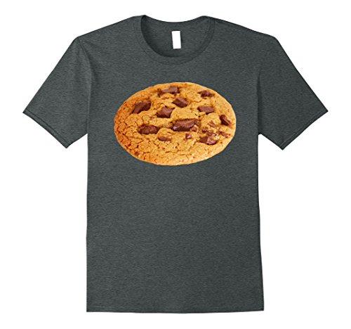 Mens Chocolate Chip Cookies Shirt Last Minute Halloween Costume Large Dark (Last Minute Halloween Food)