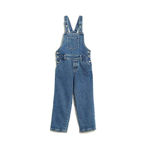 Jardineira Jeans Jeans - 2