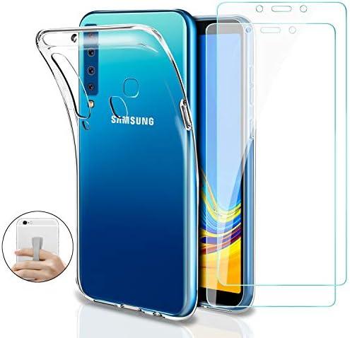 Younme Funda para Samsung A9 2018, Carcasa Transparente Silicona ...