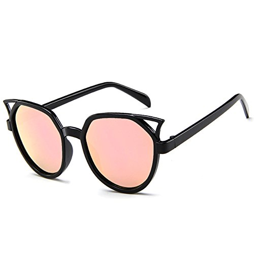 Diseño rosa Tendencia Gfas Gato Moda Oversized Gafas Sol Grande Ojos BLDEN De Mujer 7qavzrZ7