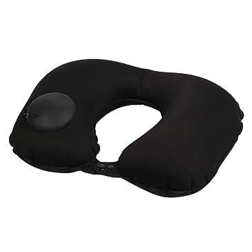 Almohada cervical QHJ Health Neck Pillow Press hinchable en U ...