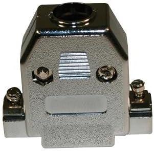 977-009-010R031 977 Series D Sub Backshell Body Acrylonitrile Butadiene Styrene 180? 977-009-010R031 ABS Pack of 50 DE