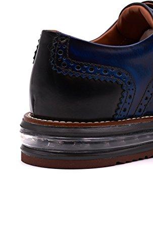 Scarpe Barleycorn uomo air brogue blu PIBAR8908MAD16B Blu