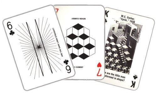 Optical Illusion Card Deck