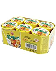 Ottogi Sesame Cup Noodle, 65g (Pack of 6)