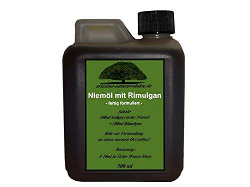Niemöl mit Rimulgan (Emulgator) 500ml / Niem Neem ***FERTIG GEMISCHT***von erlesene-naturprodukte.de