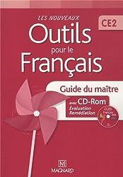 Les nouveaux outils pour le français CE2 : Guide du maître (1Cédérom)