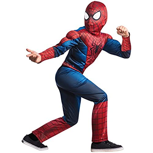 Rubieu0027s Marvel Comics Collection Amazing Spider-man 2 Deluxe Spider-man Costume Child Small - Child Small One Color  sc 1 st  Amazon.com & Amazing Spider Man Costumes: Amazon.com