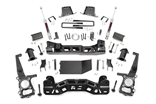 Rough Country Lift Kits - Rough Country - 598S - 6-inch Suspension Lift Kit w/ Performance 2.2 Shocks