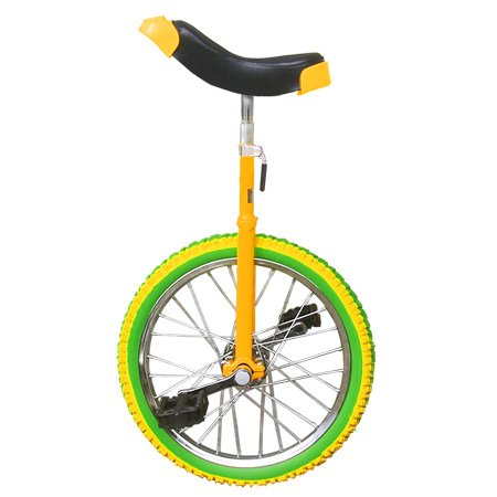 18 inch Wheel Unicycle Lemon