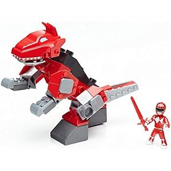 mega construx power rangers t rex zord building kit toys games. Black Bedroom Furniture Sets. Home Design Ideas