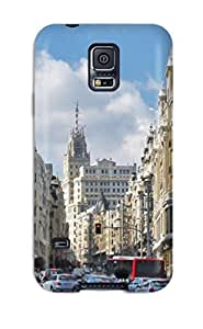 Valerie Lyn Miller Case Cover Protector Specially Made For Galaxy S5 Madrid City