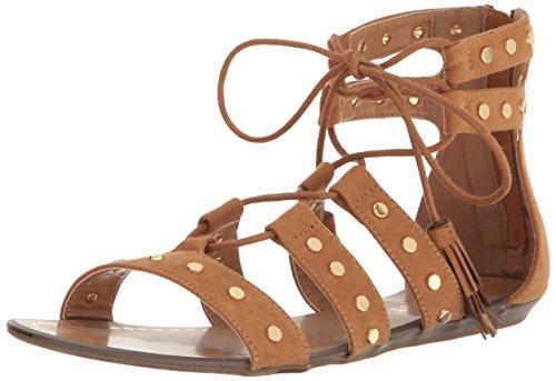 Report Women's Laurel Gladiator Sandal, Tan, 7.5 M US (Shoes Womens Report Flat)