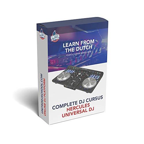 Cursus Hercules Universal DJ | Leer van de Nederlandse DJs in 20 online videos alles over jouw controler!