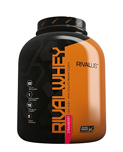 Rival Whey Strawberry 5lb For Sale