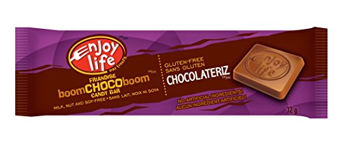 Enjoy Life Ricemilk Boom Chocoboom Bars, Chocolate, Gluten, Dairy, Nut & Soy Free, 1.12 Ounce (Pack of - Dairy Free Candy