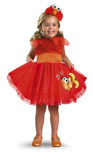 Frilly Elmo Costume - Small (2T) - 2t Elmo Costumes
