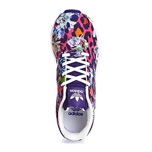 Adidas Zx Flux - Zapatillas para Bebés Violeta